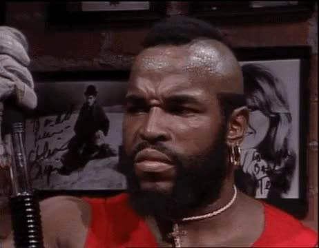 Watch this trending GIF on Gfycat. Discover more gif, laugh, laughing, laughing gif, mr. t, my gif, reaction, reaction gif, saturday night live, snl, television, television gif, vintage, vintage television GIFs on Gfycat
