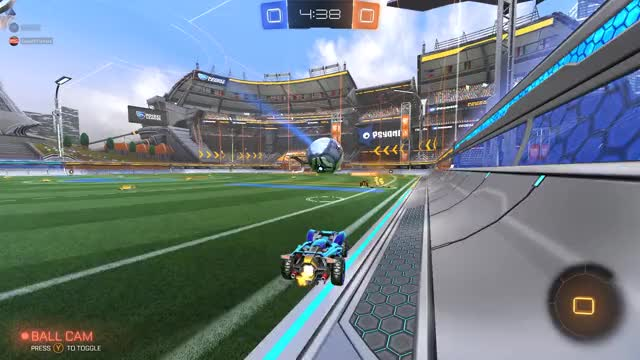 Watch and share Rocket League GIFs and Dribbling GIFs by dad stop on Gfycat