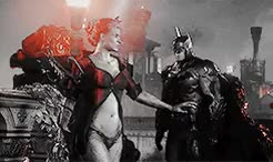 Watch and share Arkham Knight GIFs and Pamela Isley GIFs on Gfycat