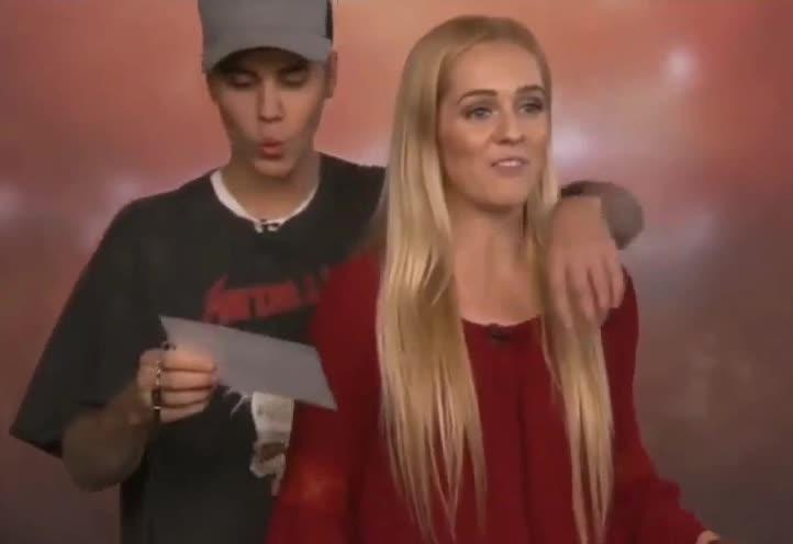 Bieber, Ellen, Fan, GIF Brewery, Justin, Surprise, Justin Bieber surprises fan GIFs