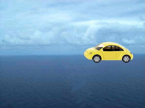 Watch and share Moving Animation Images | Yellow Beetle Moving Along The Sea GIFs on Gfycat