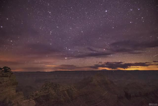 Watch and share Grand Canyon GIFs and Milky Way GIFs by aryeh95 on Gfycat