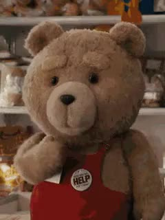 Watch and share Ted Bear GIFs on Gfycat