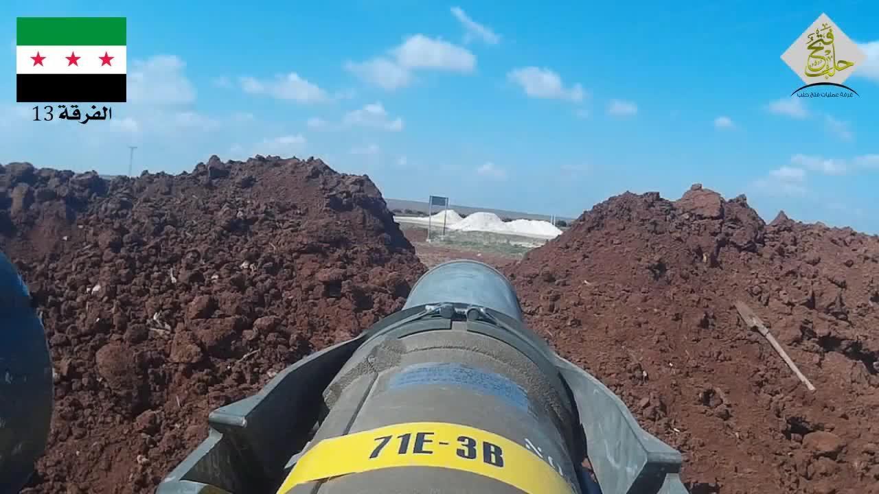 militarygfys, FSA Div. 13 TOW launch (GoPro tube POV) GIFs
