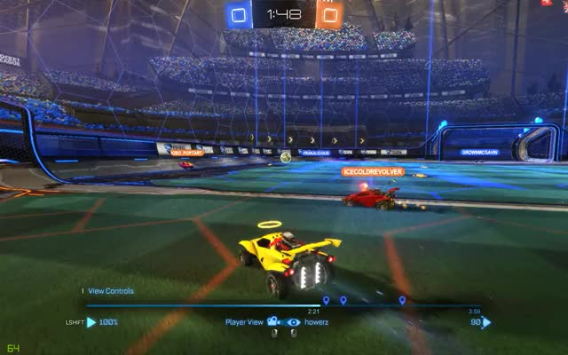 Watch and share Rocket League GIFs by grownmcgavin on Gfycat