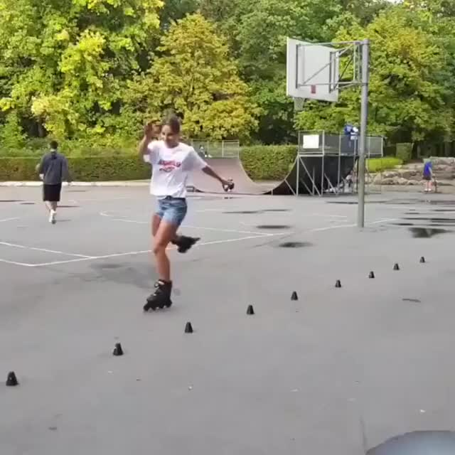 Watch and share Roller-blading Coordination GIFs by thic_flat on Gfycat