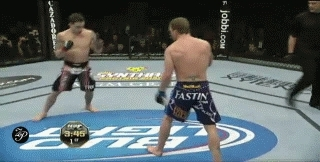 mmagifs, Gray Maynard almost becomes lightweight champion vs. Frankie Edgar (first title fight) (reddit) GIFs