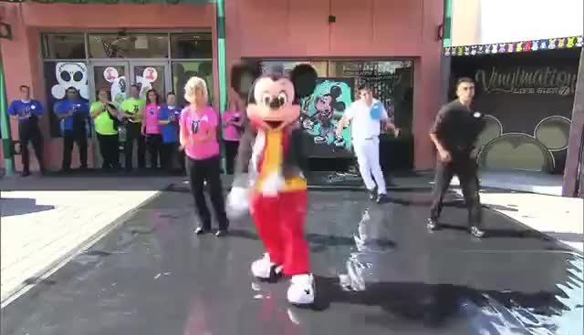 Watch Mickey Mouse gets down GIF on Gfycat. Discover more Dancing, Disney, Mickey Mouse GIFs on Gfycat