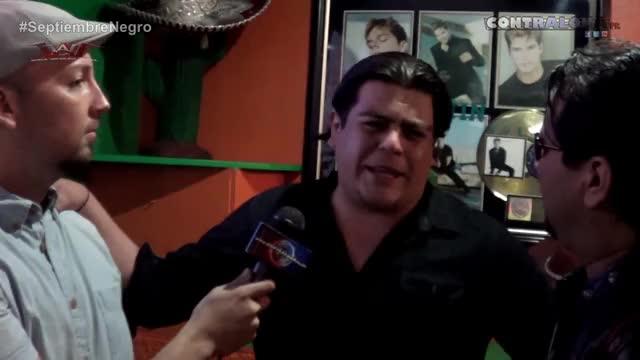 "Watch Ricardo Rodríguez: ""Voy a poner a dormir a Ray González"" GIF by Blaze Inferno (@metaknightxprophets) on Gfycat. Discover more 2014, Contralona, ContralonaPR, Lucha Libre, Ray González (Person), Ricardo Rodriguez (Person), Ricardo Rodríguez, Septiembre Negro, WWC, WWE GIFs on Gfycat"