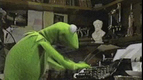 Watch and share Kermit Typing GIFs on Gfycat