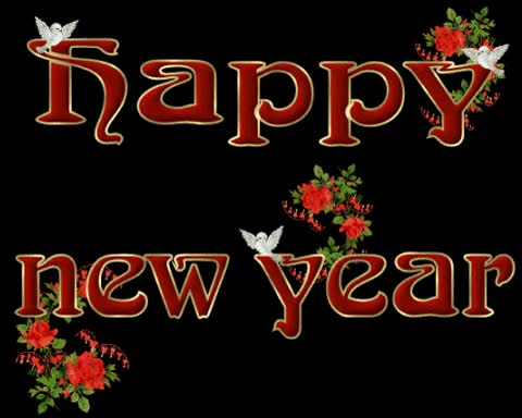 Watch and share Happy New Year Animated GIF GIFs on Gfycat