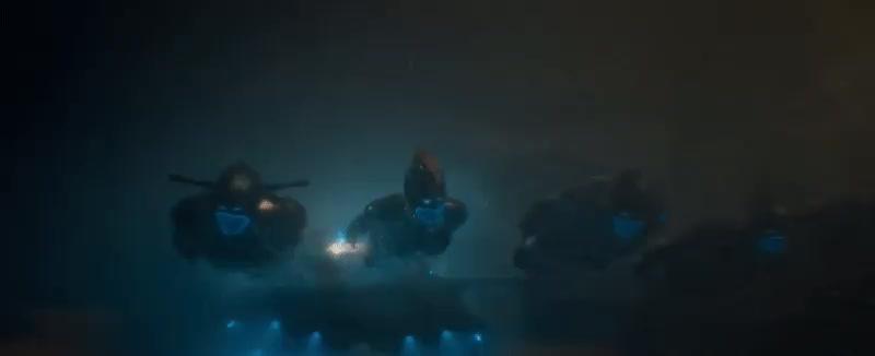 brie larson, captain marvel, carol danvers, celebs, marvel, marvel cinematic universe, marvel studios, mcu, Captain Marvel (Trailer 1) - Part O GIFs