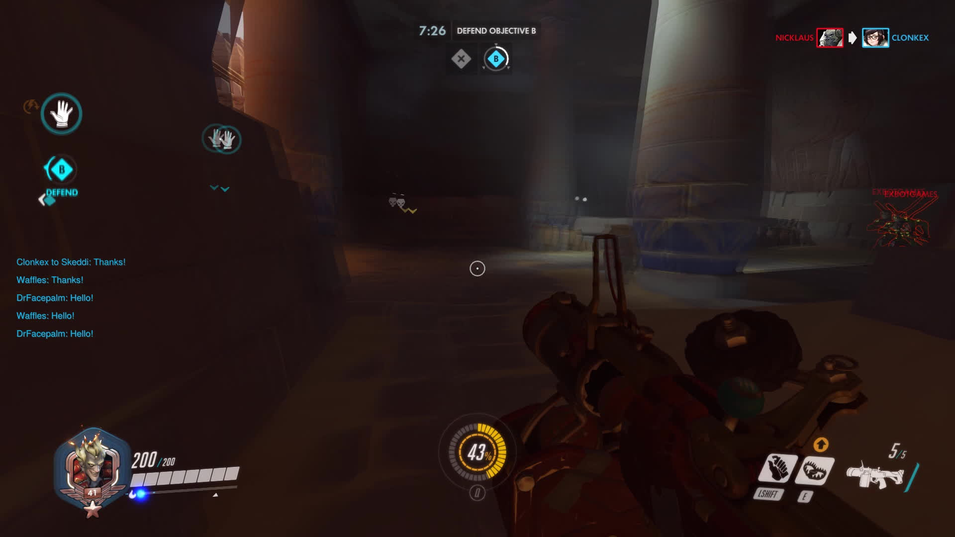 Overwatch, junkrat, overwatch, How to deal with enemy team throwers GIFs