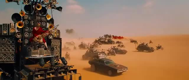 Watch and share Mad Max Fury Road First Chase Scene GIFs on Gfycat