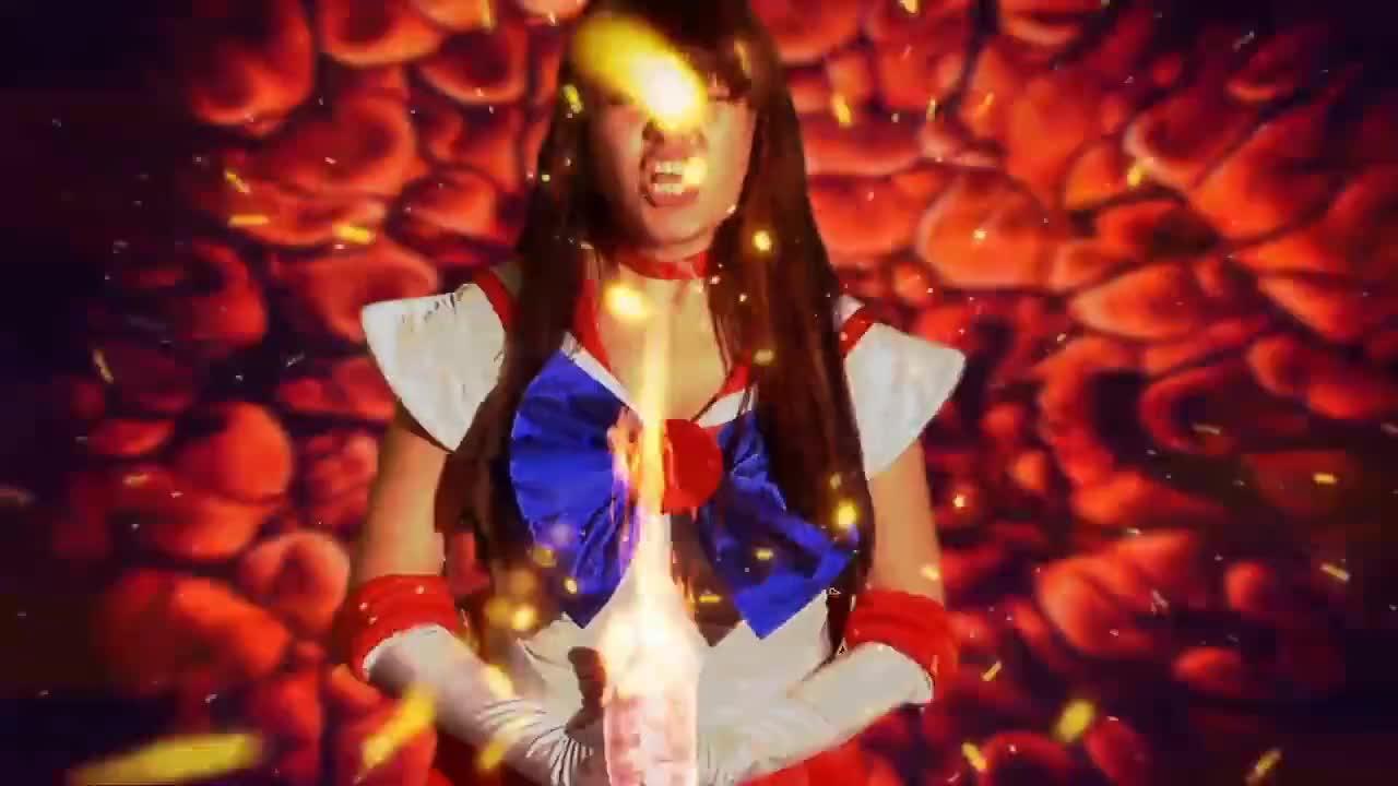 COSPLAY, Manga, Princess, anime, film, movie, IRL Sailor Mars Attacks! GIFs