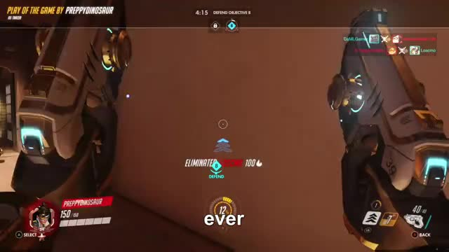 Watch best GIF by Gamer DVR (@xboxdvr) on Gfycat. Discover more OverwatchOriginsEdition, PreppyDinosaur, xbox, xbox dvr, xbox one GIFs on Gfycat