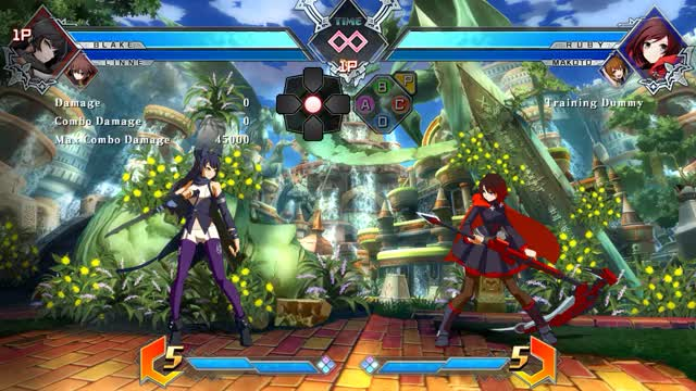 Watch and share Blazblue GIFs and Bbtag GIFs by ghostayane on Gfycat