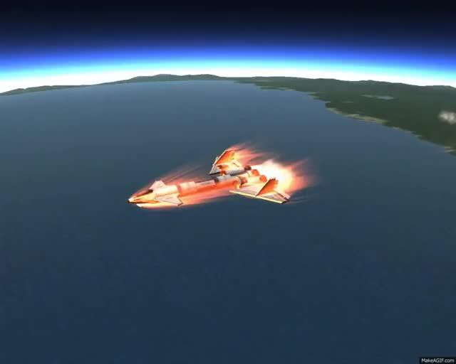 Watch Kerbal Space Program Spaceplane GIF on Gfycat. Discover more related GIFs on Gfycat