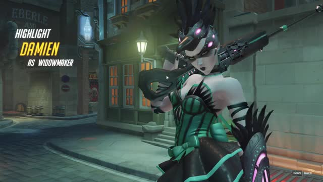 Watch and share Widowmaker GIFs and Overwatch GIFs by derado on Gfycat