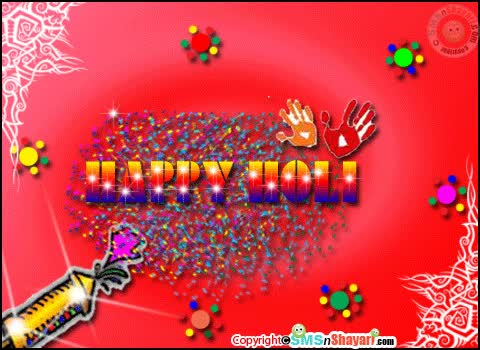 Watch and share Happy Holi Glitter Animated Graphic GIFs on Gfycat