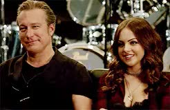 Watch and share Elizabeth Gillies GIFs and John Corbett GIFs on Gfycat