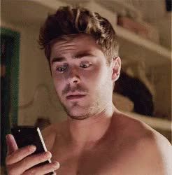 Watch and share Zac Efron GIFs and Texting GIFs on Gfycat