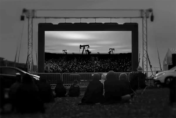 Watch and share Outdoor Cinema Screen GIFs on Gfycat