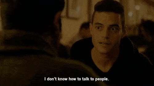 Watch and share Rami Malek GIFs on Gfycat
