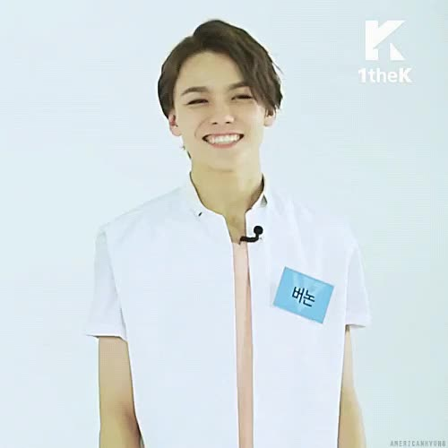 Watch and share Seventeen Vernon GIFs on Gfycat