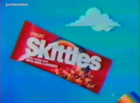 Watch and share 80s Commercials GIFs and Skittles GIFs on Gfycat