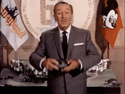 Watch this GIF on Gfycat. Discover more 1950s, 50s, disneyland, mickey mouse, vintage disney, walt disney GIFs on Gfycat