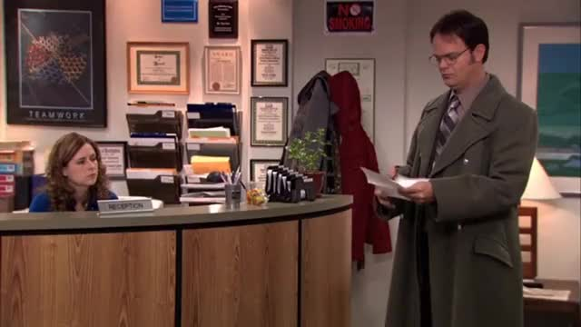 Watch I State My Regret GIF on Gfycat. Discover more Dwight, Jim, LYING, MEMORIZE, abba, apology, company, compelled, false, lie, michael, regret, remorse, remorseful, sign, stanley GIFs on Gfycat