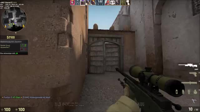 Watch and share Dust2 Snipes GIFs by hybr1s on Gfycat