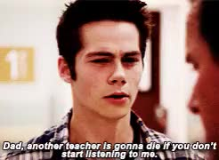 Watch 3.09 // 5.09 GIF on Gfycat. Discover more *, also if anyone else paralleled this before me i'm sorry, scott mccall, sheriff stilinski, stiles stilinski, stilesedit, teen wolf, this made better sense in my head, twedit GIFs on Gfycat