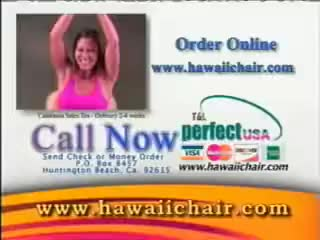 Watch and share Hawaii Chair Infomercial GIFs on Gfycat