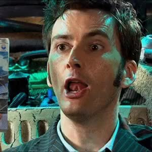Watch and share Agatha Christie GIFs and Tenth Doctor GIFs on Gfycat