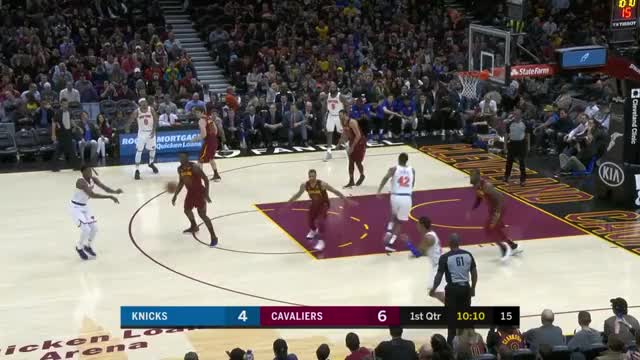Watch and share Cleveland Cavaliers GIFs and New York Knicks GIFs by mmiranda on Gfycat