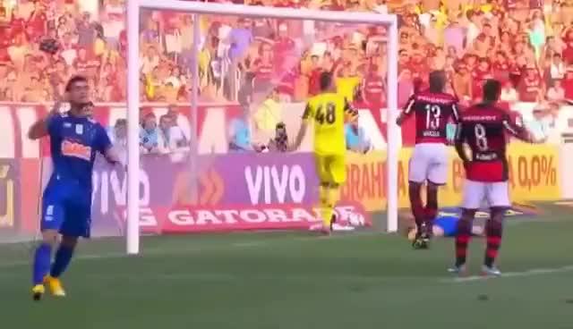 Watch and share Flamengo 3 X 0 Cruzeiro - Melhores Momentos - Brasileirão 2014 GIFs on Gfycat