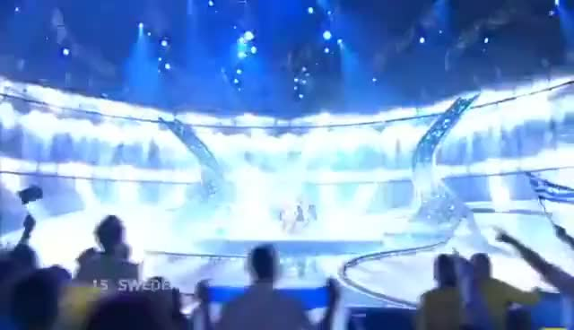Watch and share Charlotte Perrelli GIFs and Eurovision GIFs on Gfycat