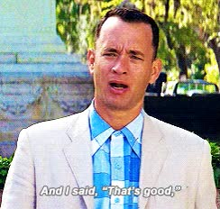 Watch and share Hanks Forrest Gump Gif: GIFs on Gfycat