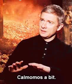 Watch and share Martin Freeman GIFs and Celebs GIFs on Gfycat