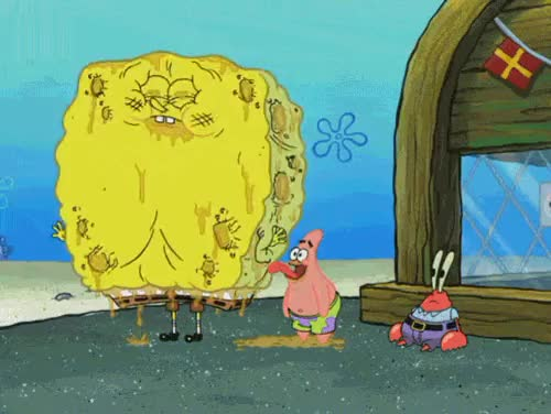 Watch and share Patrick Spongebob GIFs and Greasy Buffoons GIFs on Gfycat