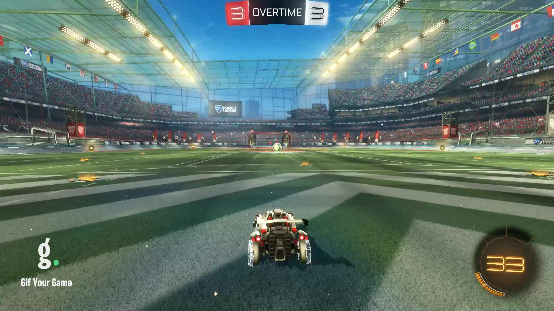 Gif Your Game, GifYourGame, Goal, Rocket League, RocketLeague, SwolSquirrel, Goal 7: SwolSquirrel GIFs
