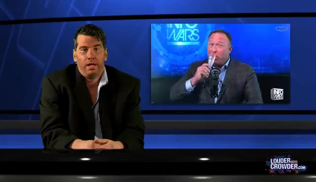 Watch and share Alex Jones Crashes The Young Turks! PART 1 GIFs on Gfycat