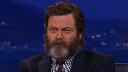 Watch my bad boo GIF on Gfycat. Discover more nick offerman GIFs on Gfycat