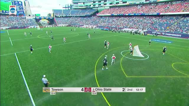 Watch and share Lacrosse GIFs and Towson GIFs by Lacrosse Film Room on Gfycat