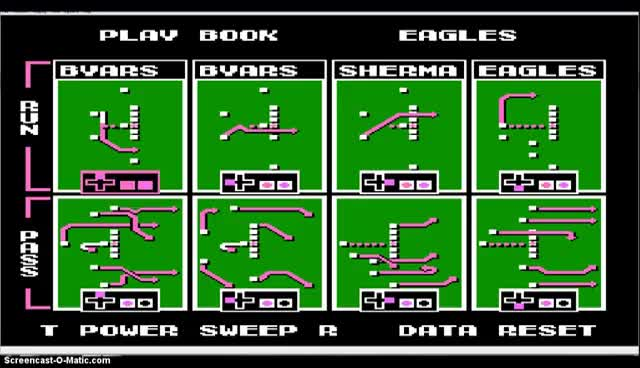 Watch and share THROWBACK THURSDAY! Tecmo Basics: How To Change A Playbook GIFs on Gfycat