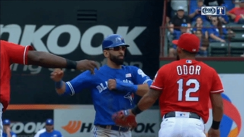 [GIF] Odor VS Bautista • r/SuperSaiyanGifs GIFs