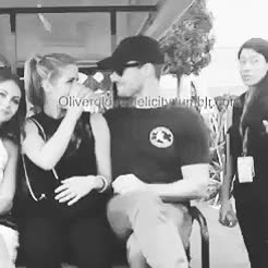 Watch Emily Bett Rickards and Stephen Amell (+ bonus Willa Holland GIF on Gfycat. Discover more 1k, 500, Arrow, Arrow cast, Emily Bett Rickards, SDCC 2014, Stephen Amell, VAP, WIlla Holland, arrowedit, bYE, cake, edit[2], emilybettedit, stephenamelledit GIFs on Gfycat