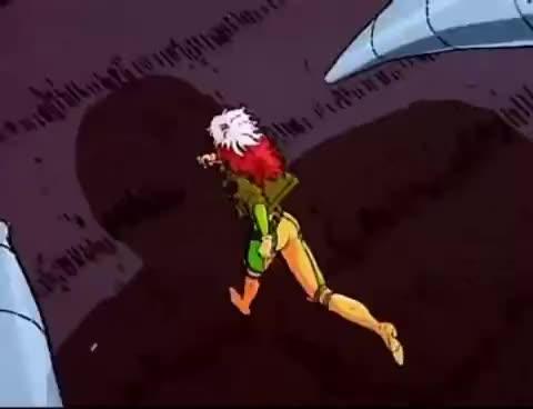 marvel, mutants, rogue, x-men, Xmen animated series theme GIFs